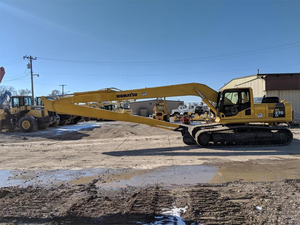 Detail photo of 2008 Komatsu PC270LC-8 from Construction Equipment Guide