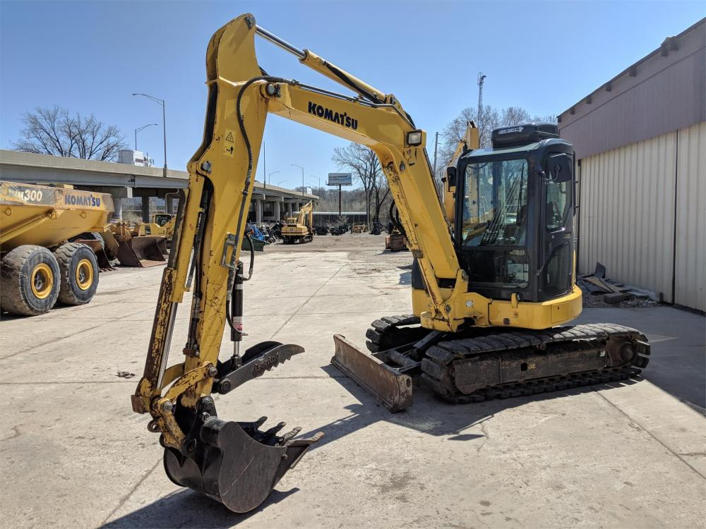 Detail photo of 2012 Komatsu PC55MR-3 from Construction Equipment Guide