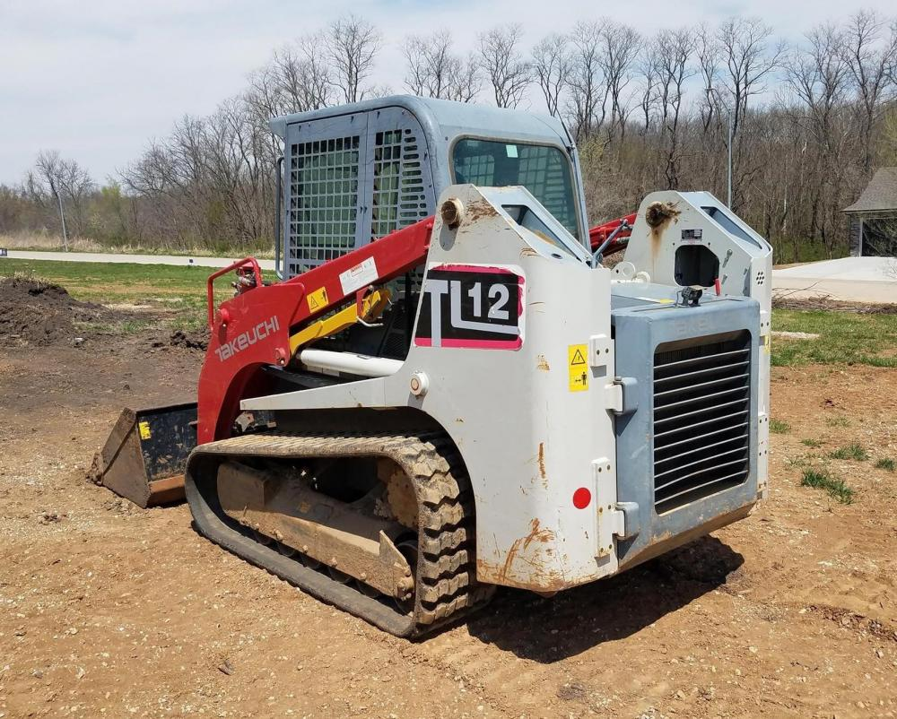 Takeuchi Tl12 Forestry