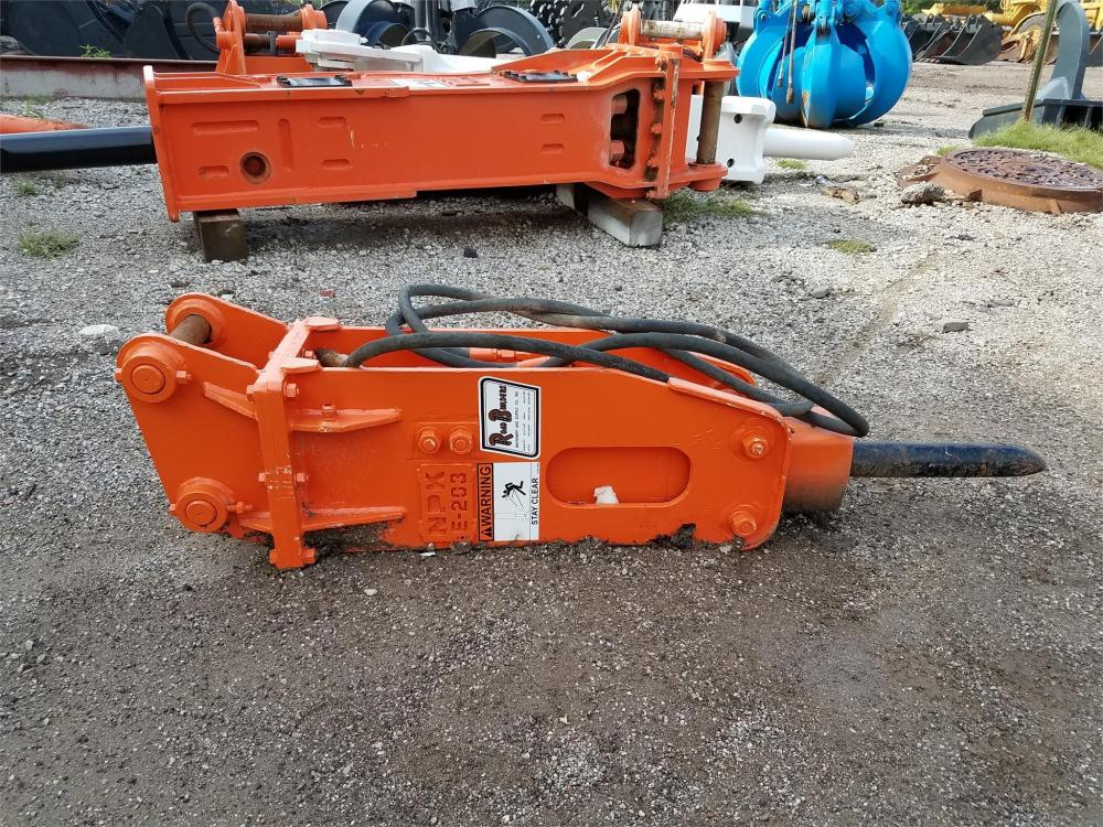 Detail photo of  NPK E203 from Construction Equipment Guide