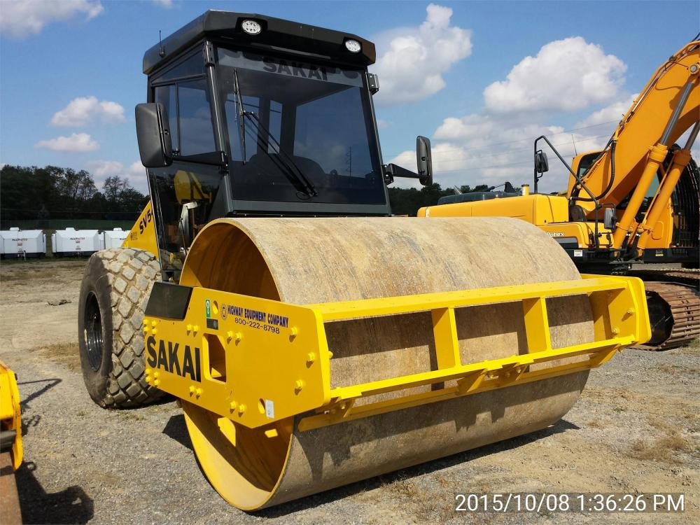 Detail photo of 2015 Sakai SV540D from Construction Equipment Guide