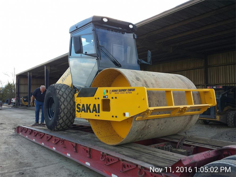 Detail photo of 2016 Sakai SV540D from Construction Equipment Guide