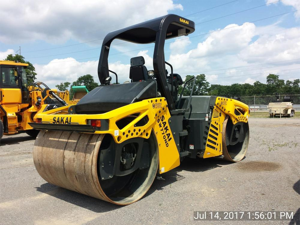 Detail photo of 2016 Sakai SW770ND from Construction Equipment Guide
