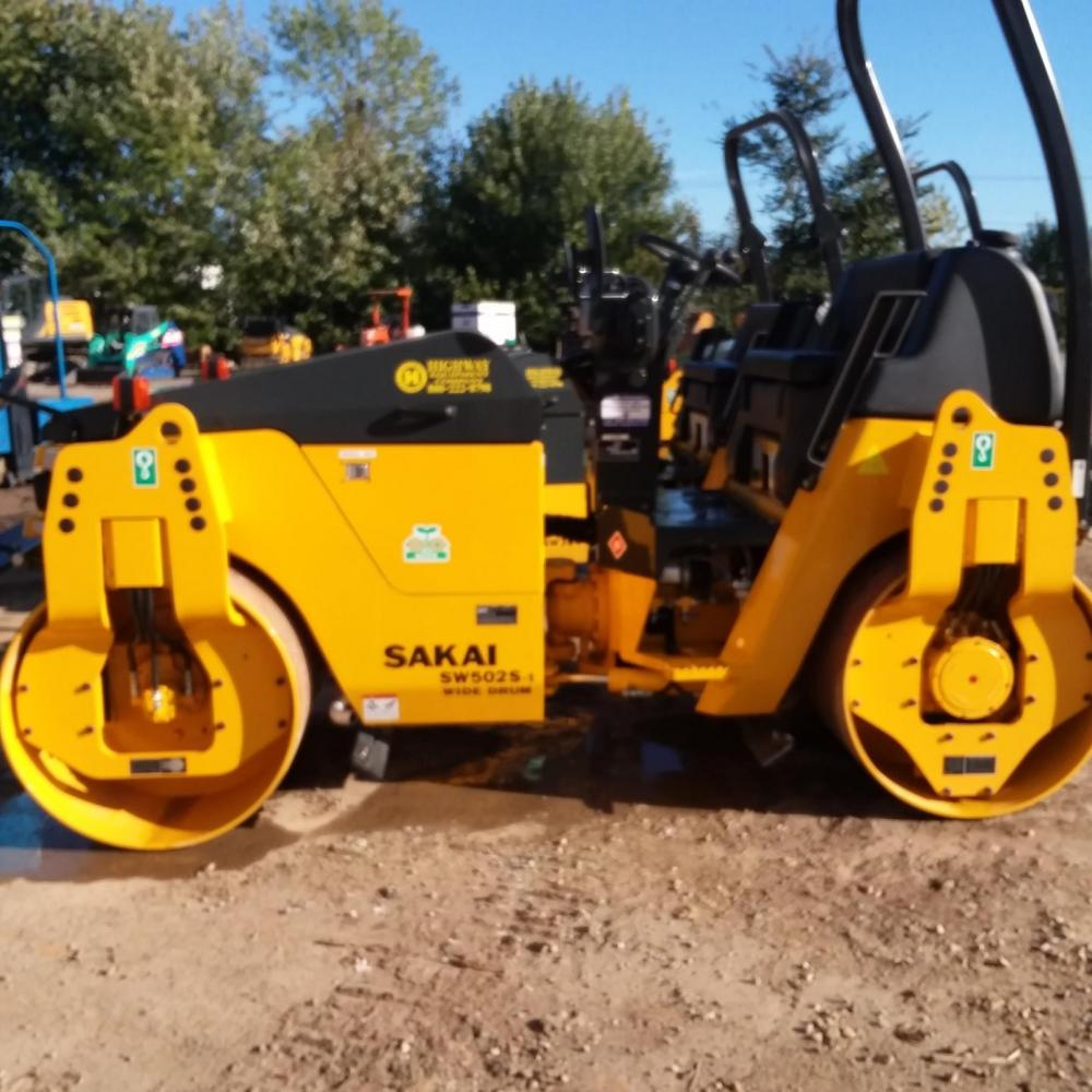 Detail photo of 2017 Sakai SW502S from Construction Equipment Guide
