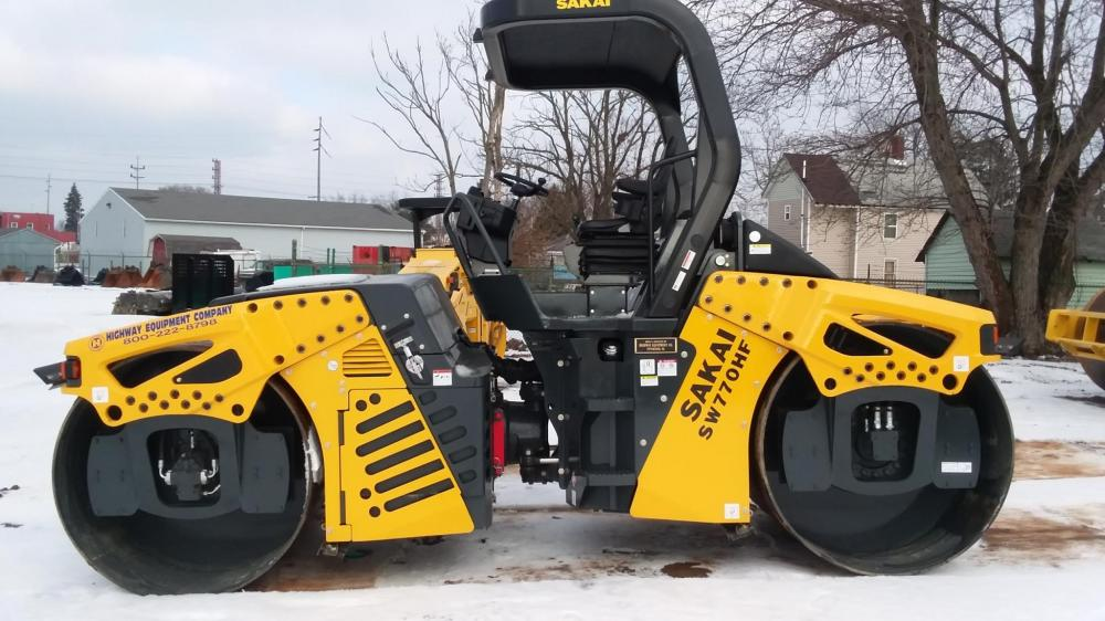 Detail photo of 2017 Sakai SW770HF from Construction Equipment Guide