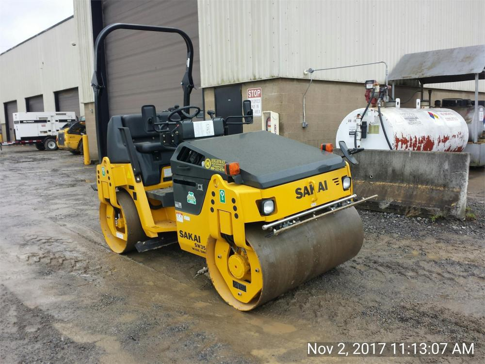 Detail photo of 2017 Sakai SW354 from Construction Equipment Guide