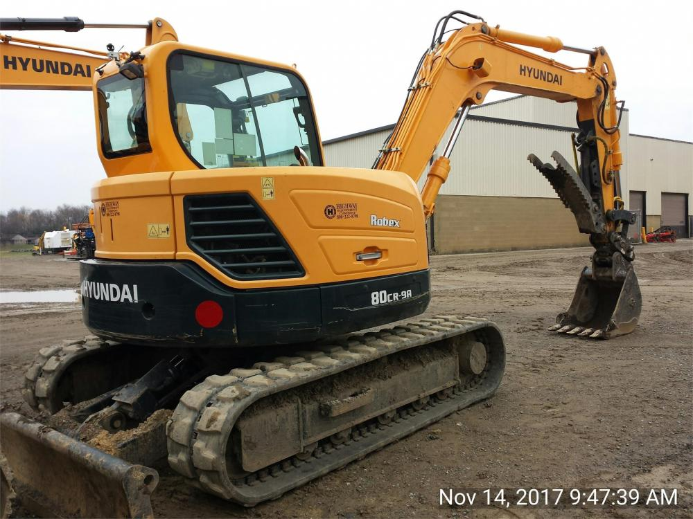 Detail photo of 2015 Hyundai ROBEX 80CR-9 from Construction Equipment Guide