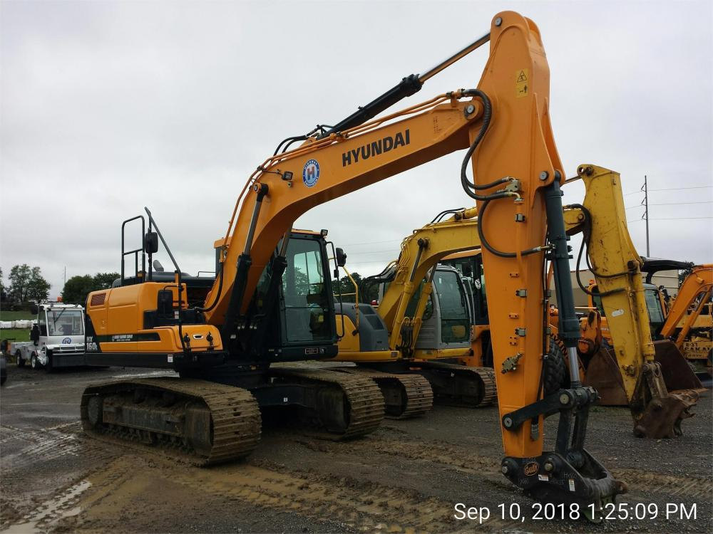 Detail photo of 2018 Hyundai ROBEX 160 from Construction Equipment Guide