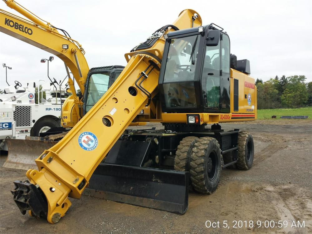 Detail photo of 2018 Gradall XL4300 V from Construction Equipment Guide