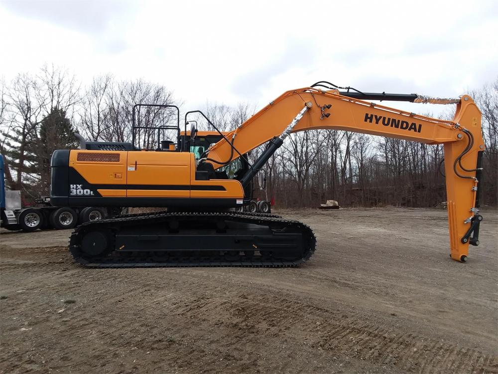 Detail photo of 2019 Hyundai HX300L from Construction Equipment Guide