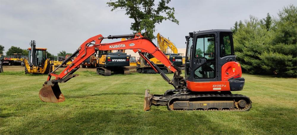 Detail photo of 2013 Kubota KX057-4 from Construction Equipment Guide