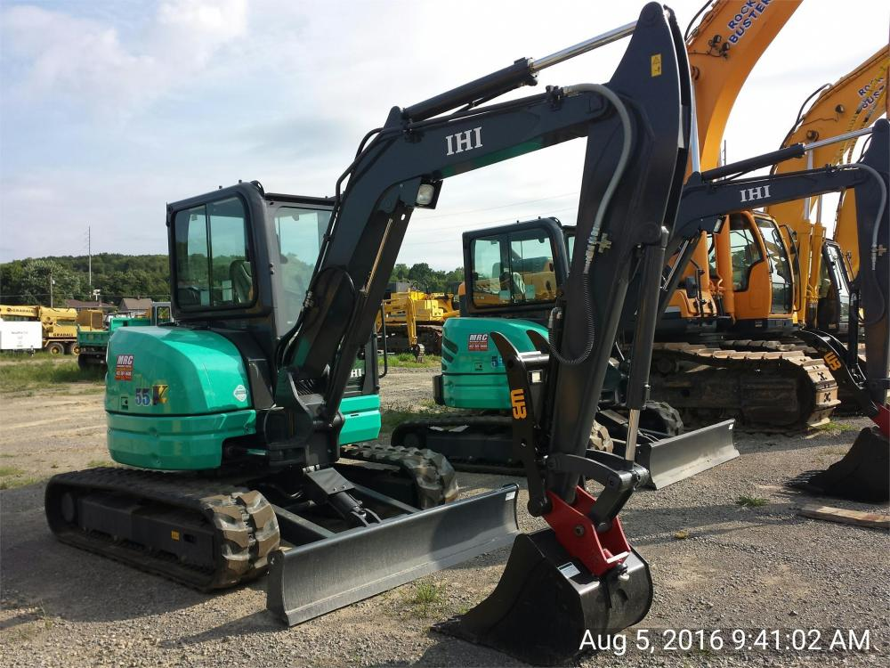 Detail photo of 2016 IHI 55V4 from Construction Equipment Guide