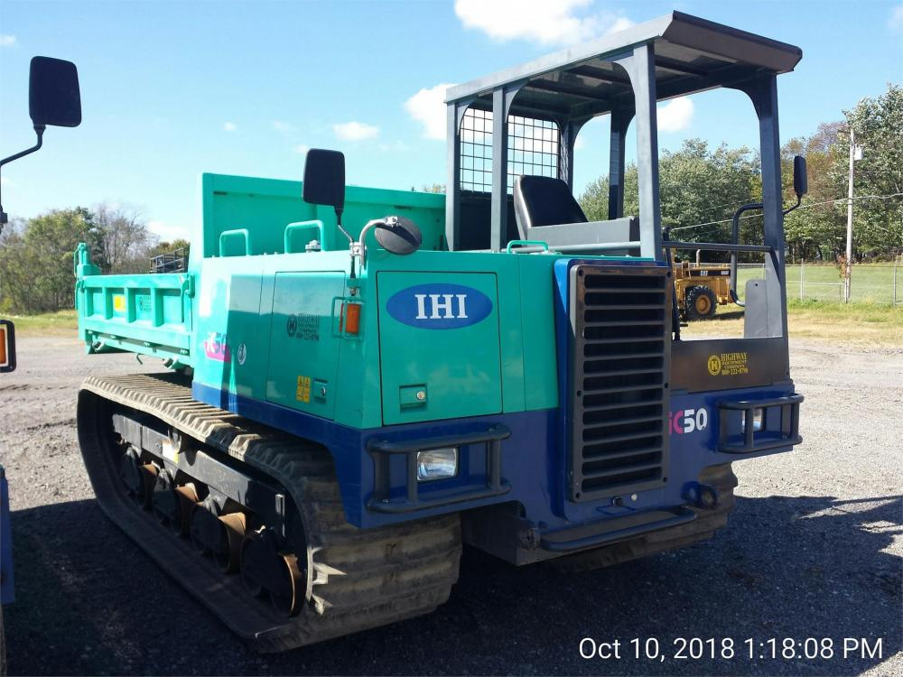 Detail photo of 2018 IHI IC50 from Construction Equipment Guide