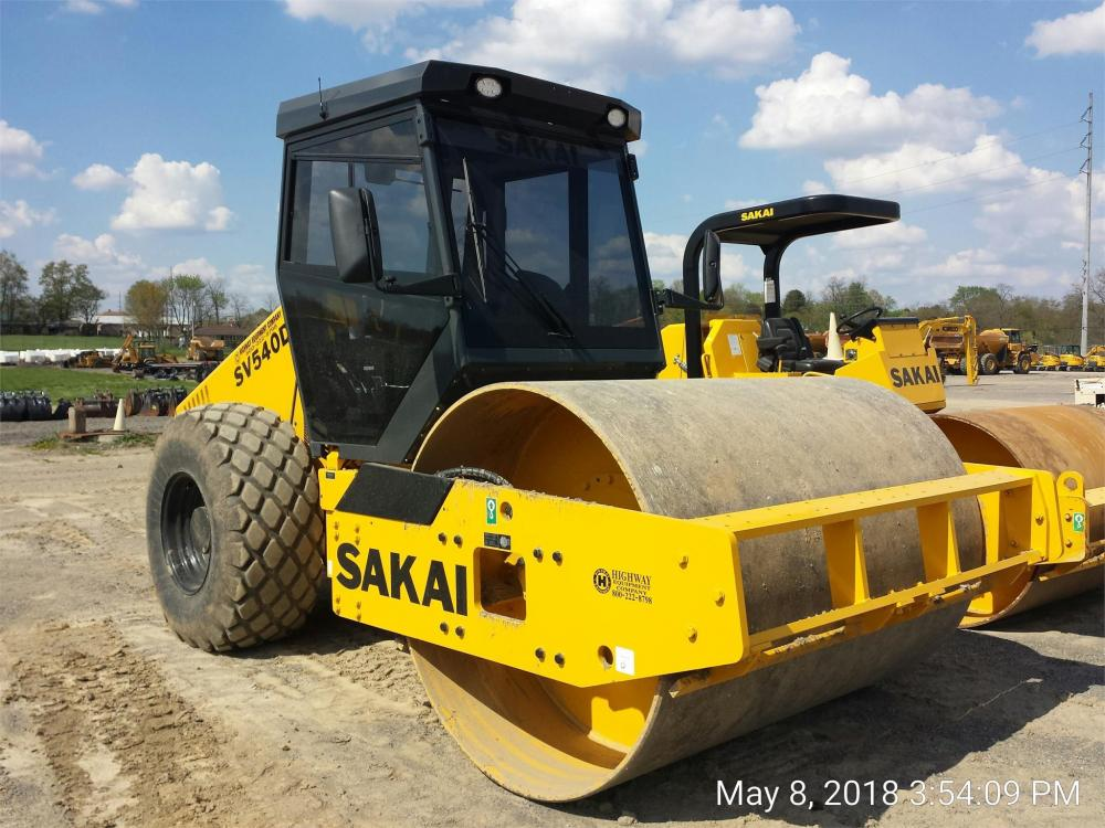 Detail photo of 2018 Sakai SV540D from Construction Equipment Guide