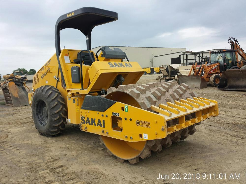 Detail photo of 2018 Sakai SV414T from Construction Equipment Guide