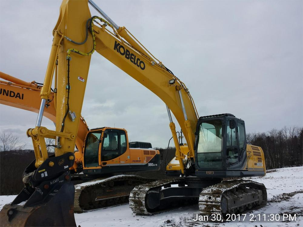 Detail photo of 2016 Kobelco SK210-9 from Construction Equipment Guide