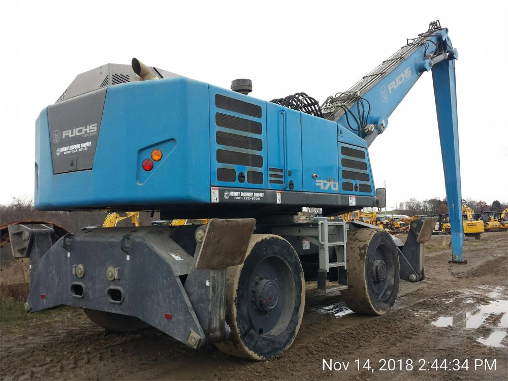Detail photo of 2017 Fuchs MHL370F from Construction Equipment Guide