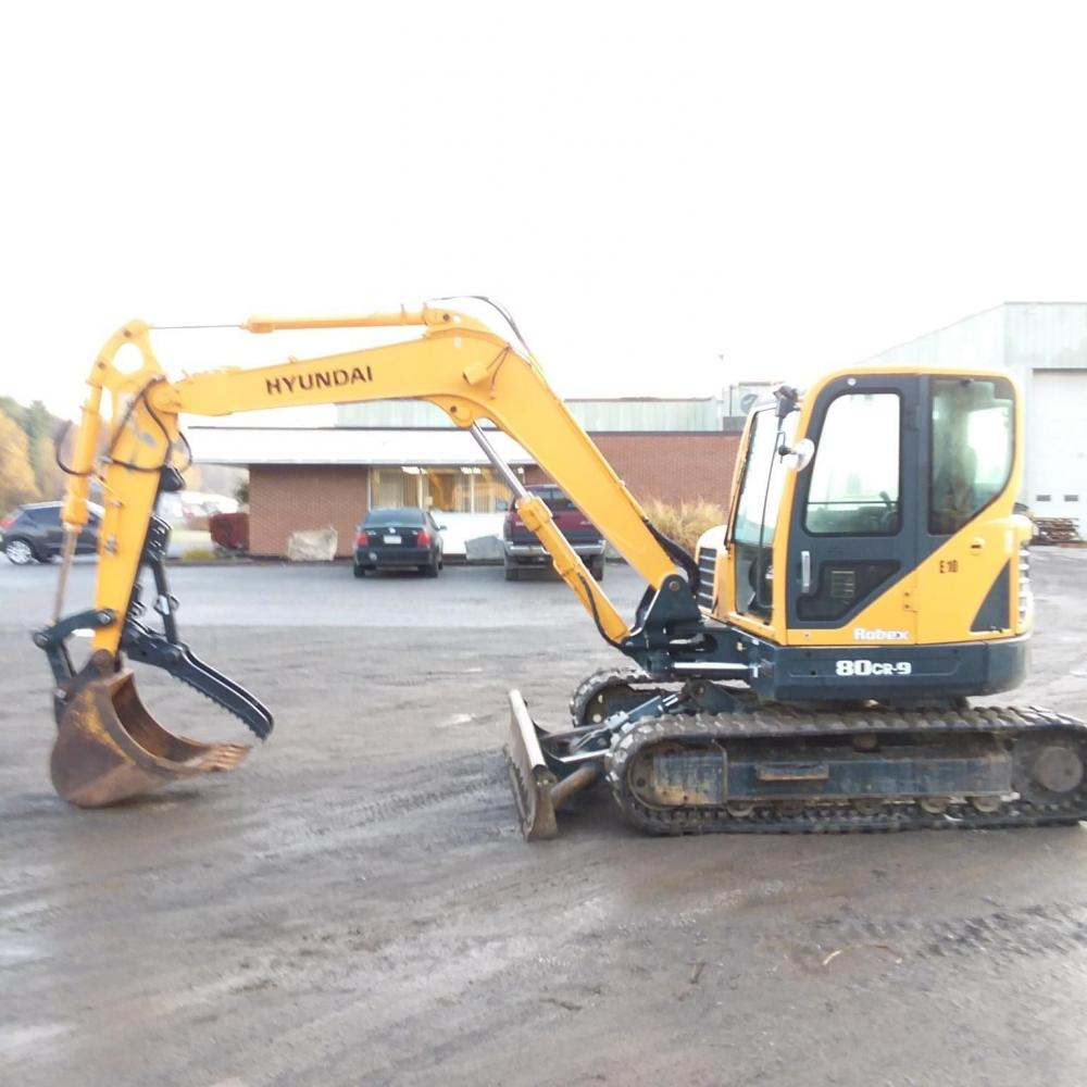 Detail photo of 2012 Hyundai ROBEX 80CR-9 from Construction Equipment Guide