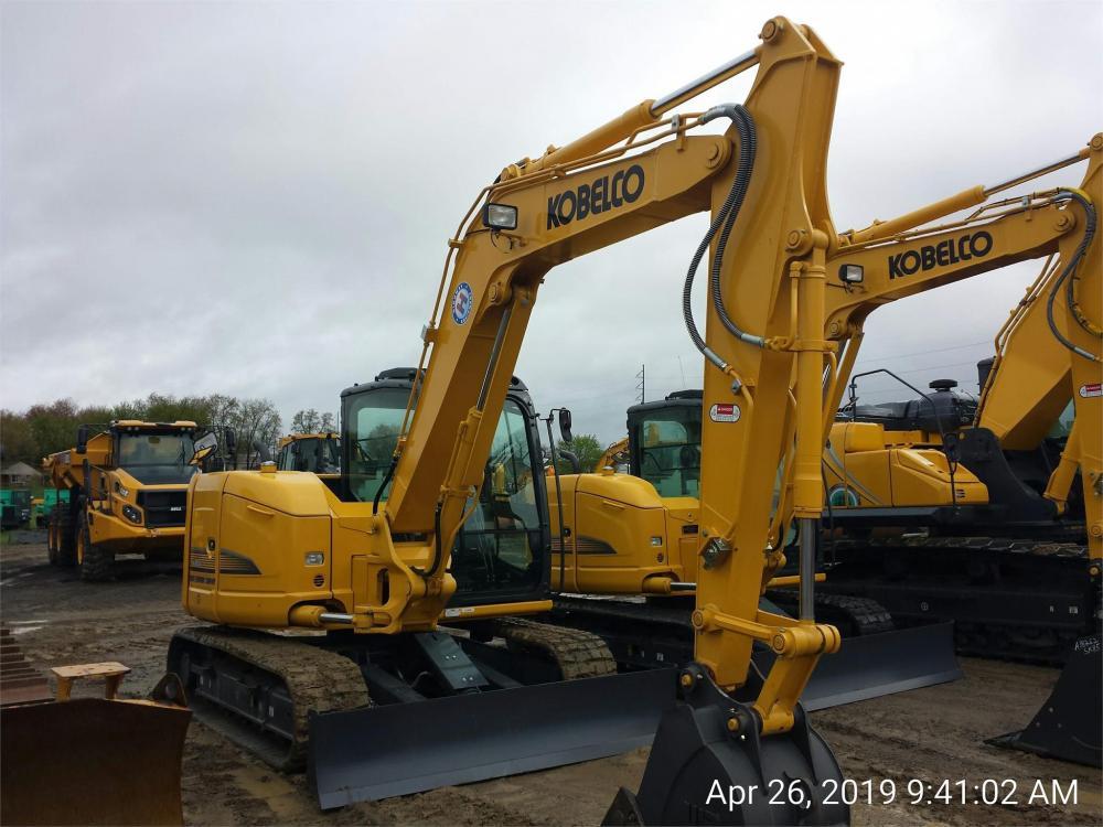 Detail photo of 2019 Kobelco SK85CS from Construction Equipment Guide
