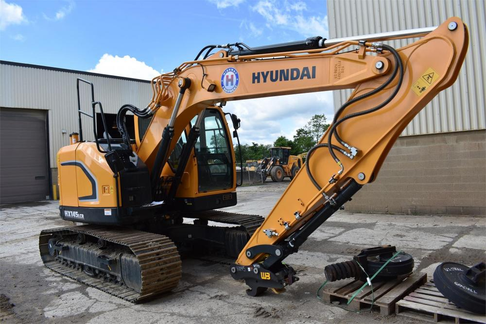 Detail photo of 2019 Hyundai HX145LCR from Construction Equipment Guide