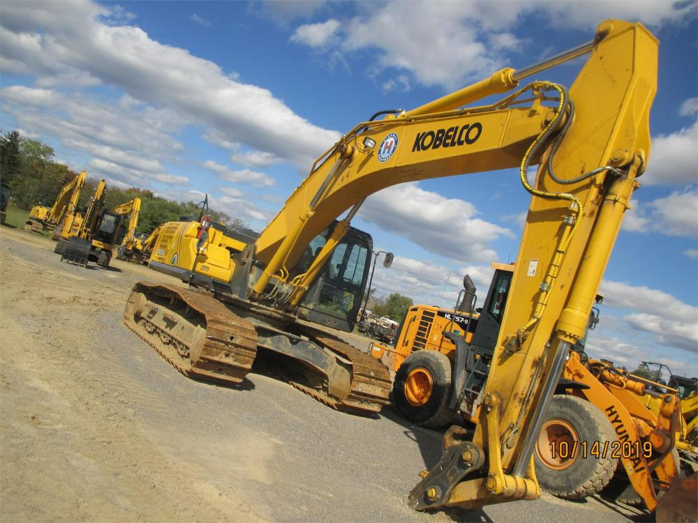 Detail photo of 2018 Kobelco SK350 LC-10 from Construction Equipment Guide