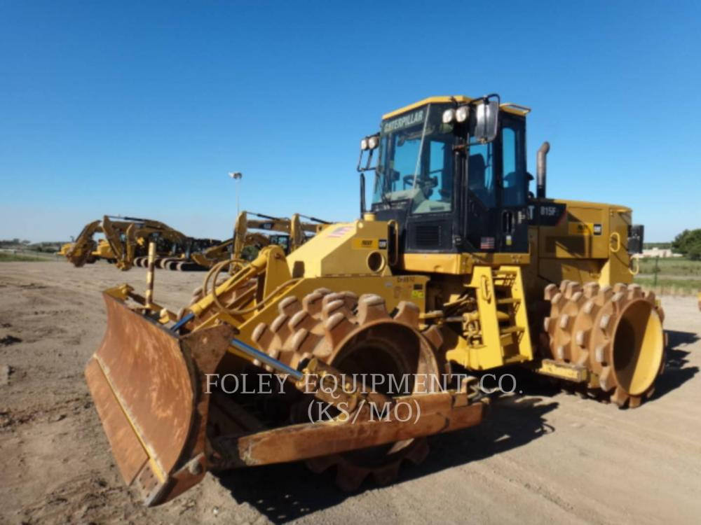Detail photo of 2012 Caterpillar 815F II from Construction Equipment Guide
