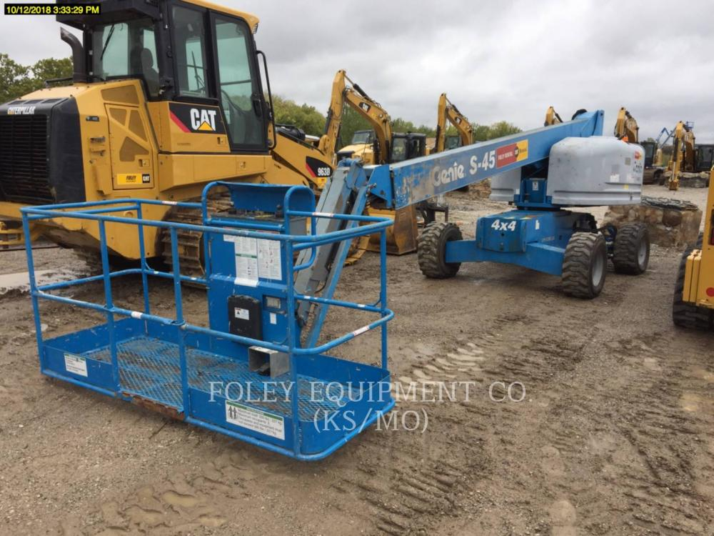 Detail photo of 2008 Genie S-45 from Construction Equipment Guide
