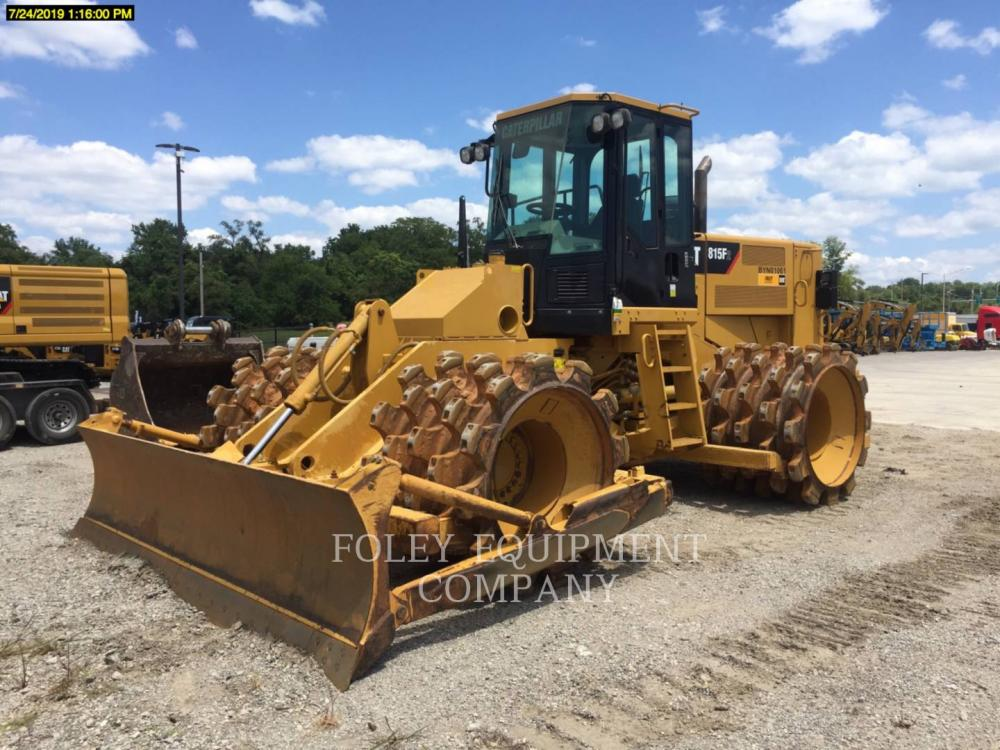 Detail photo of 2014 Caterpillar 815F2 from Construction Equipment Guide
