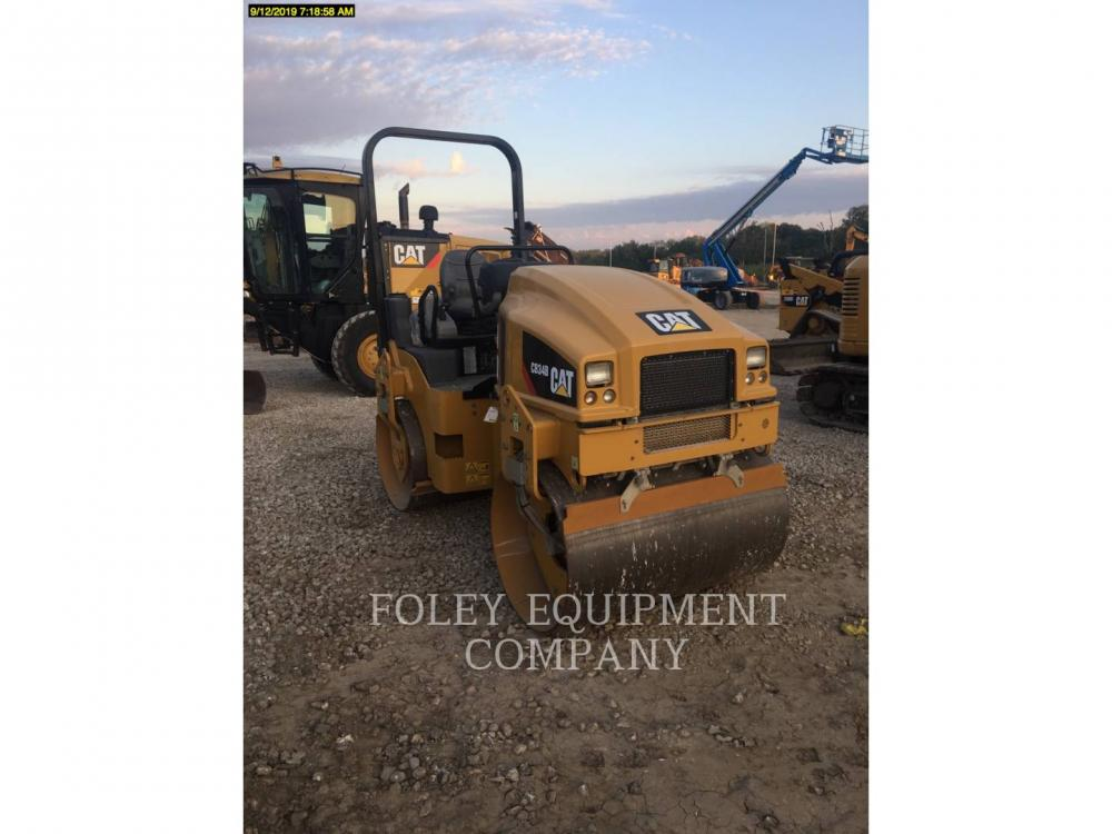 Detail photo of 2016 Caterpillar CB34B from Construction Equipment Guide