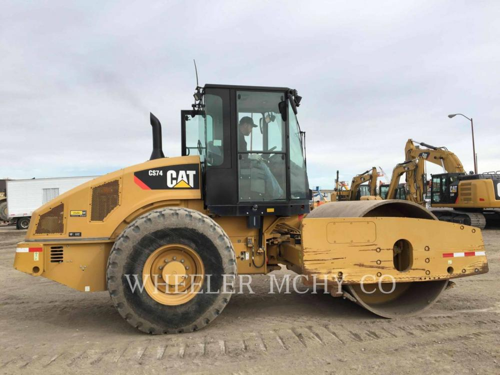 Detail photo of 2012 Caterpillar CS74 from Construction Equipment Guide