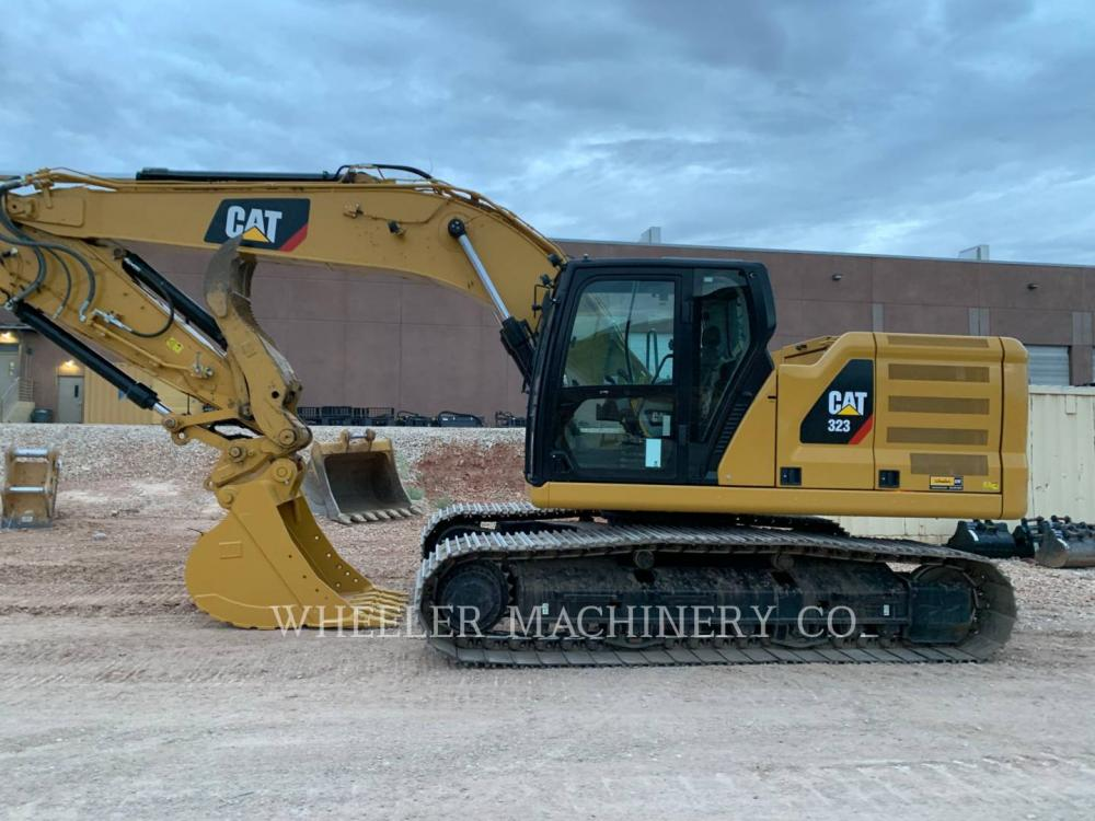 Detail photo of 2018 Caterpillar 323 THM from Construction Equipment Guide