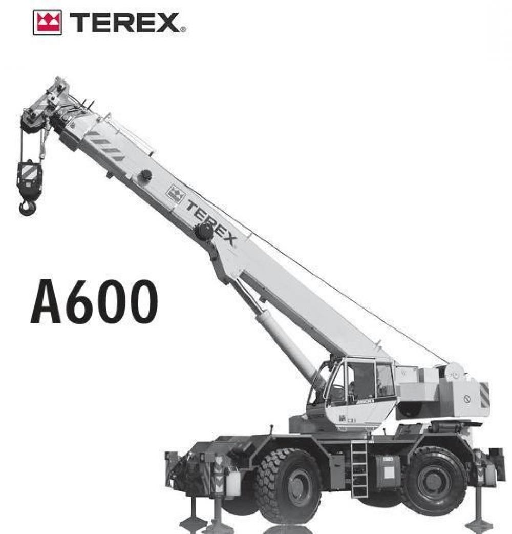 Detail photo of 2018 Terex A600 from Construction Equipment Guide