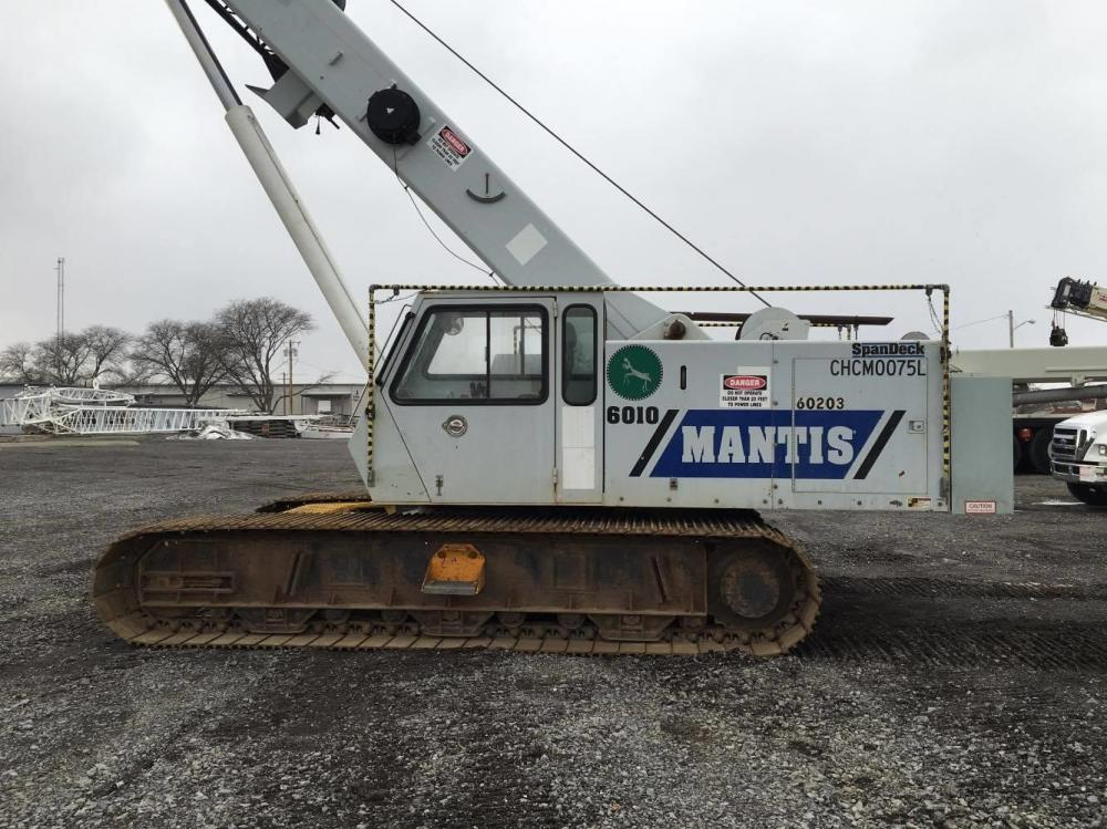 Detail photo of 2006 Mantis 6010 from Construction Equipment Guide