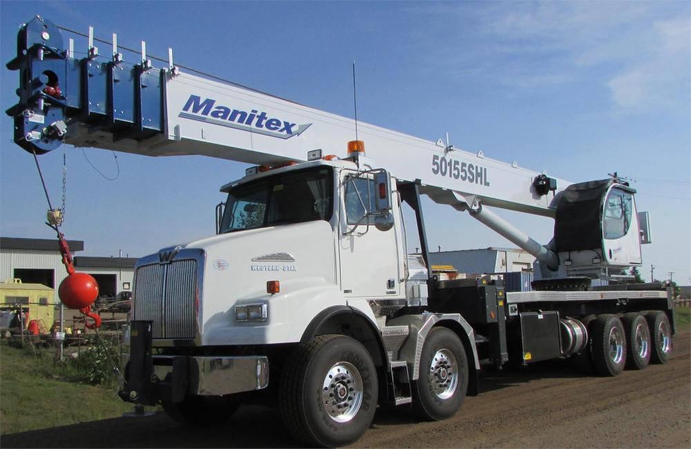 Detail photo of 2018 Manitex 50155SHL from Construction Equipment Guide