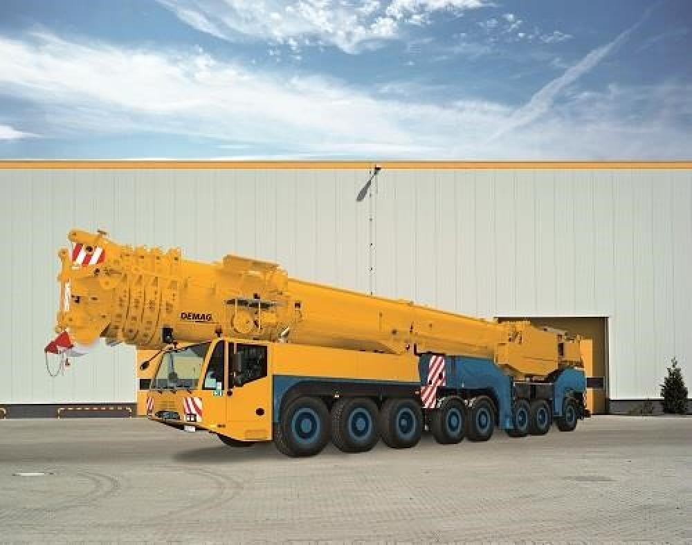 Detail photo of 2019 Demag AC500-8 from Construction Equipment Guide