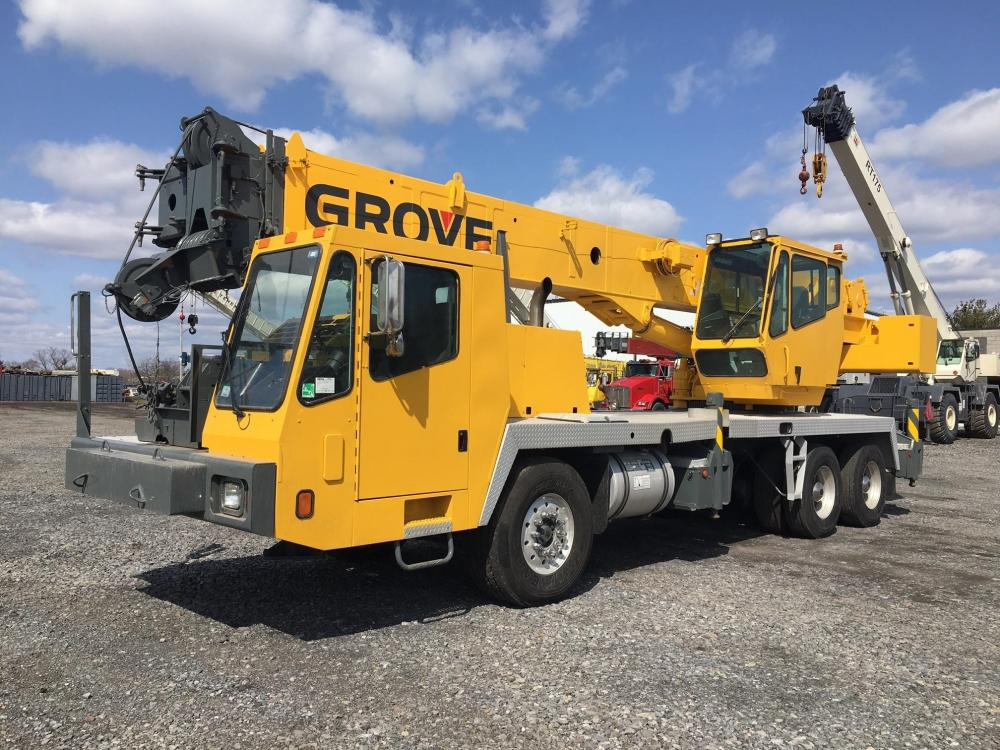 Detail photo of 2006 Grove TMS500E from Construction Equipment Guide
