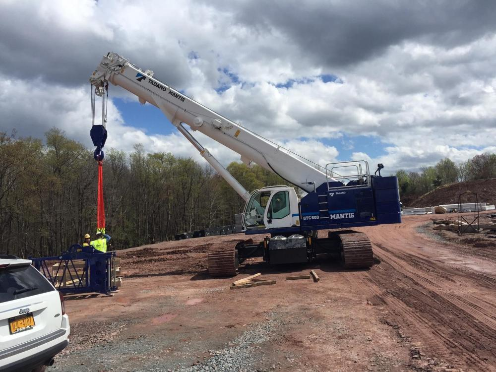 Detail photo of 2019 Tadano GTC-800 from Construction Equipment Guide