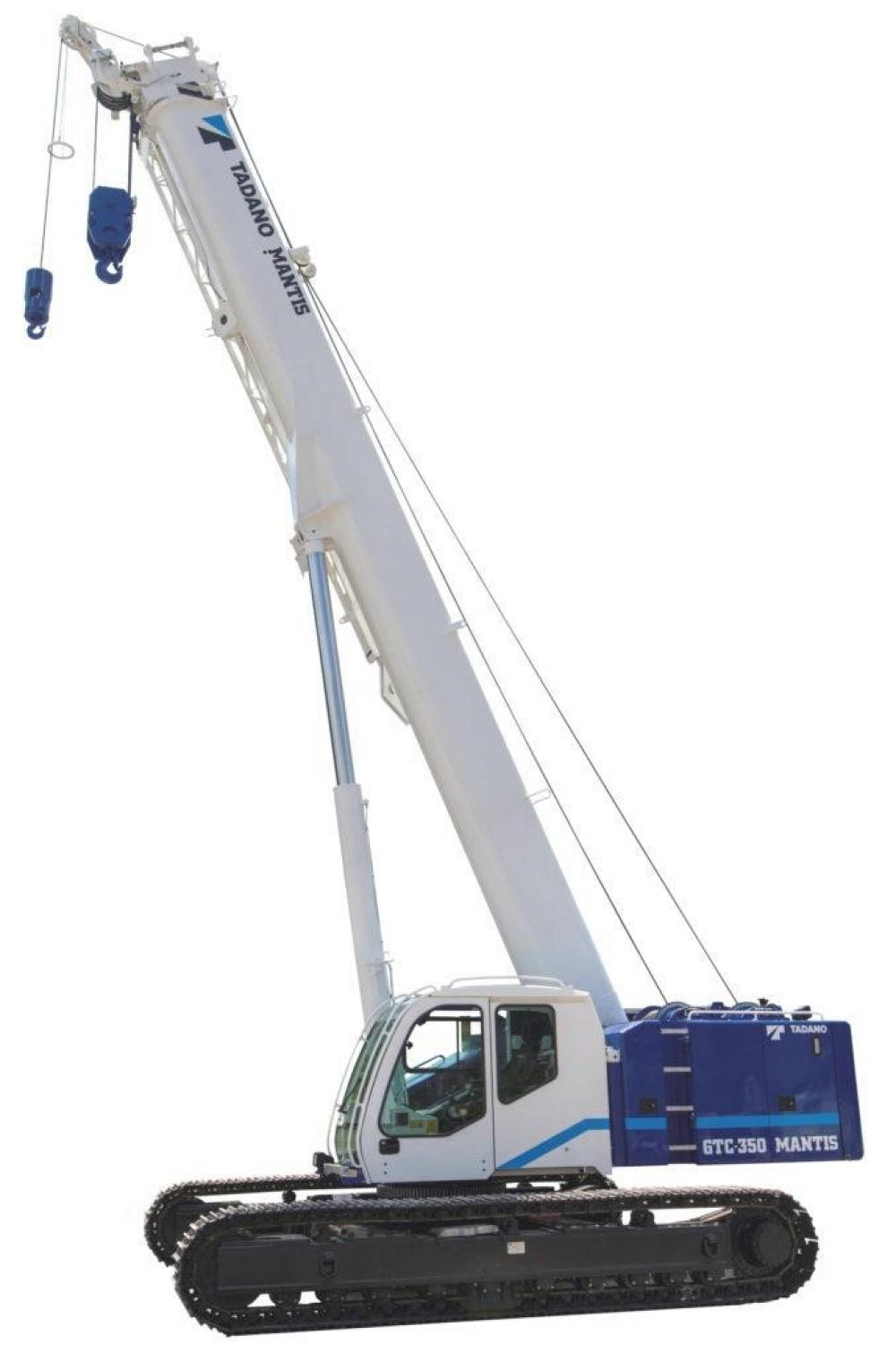 Detail photo of 2019 Tadano GTC-350 from Construction Equipment Guide