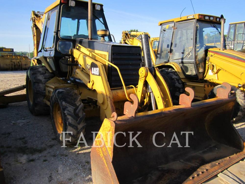 Detail photo of 1993 Caterpillar 446B from Construction Equipment Guide