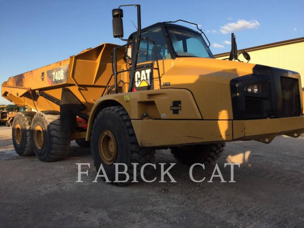 Detail photo of 2014 Caterpillar 740B from Construction Equipment Guide