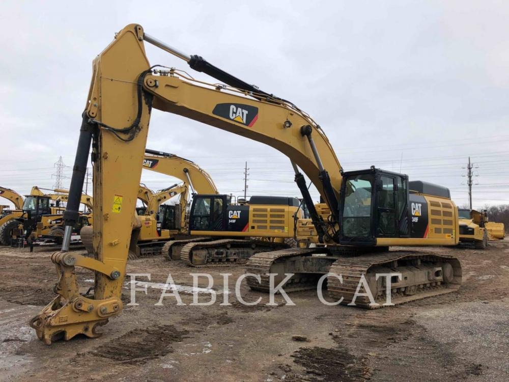 Detail photo of 2015 Caterpillar 349FL from Construction Equipment Guide