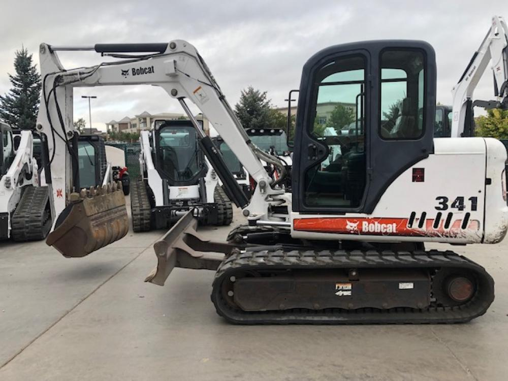 Detail photo of 2004 Bobcat 341 from Construction Equipment Guide