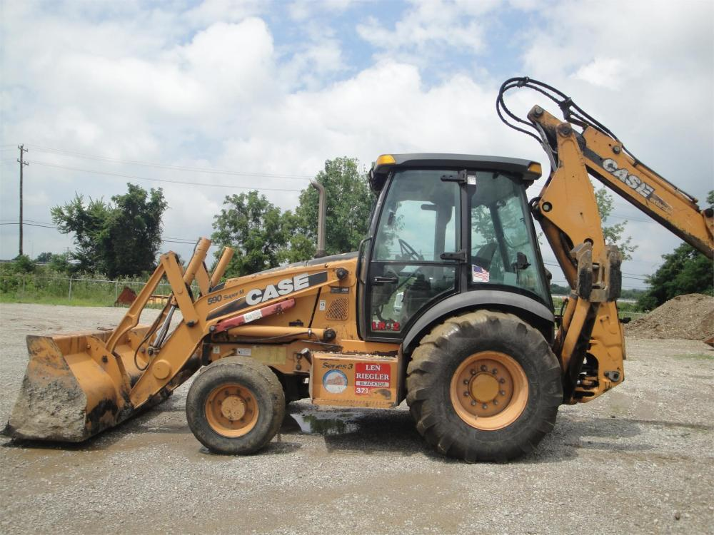 Detail photo of 2010 Case 590 SM III from Construction Equipment Guide