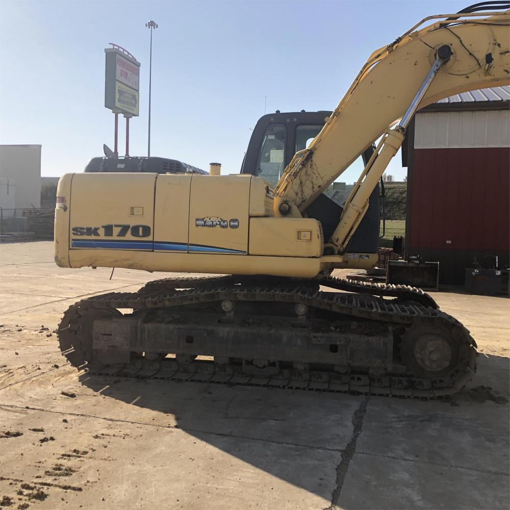 Detail photo of 2010 Kobelco SK170 LC8 from Construction Equipment Guide