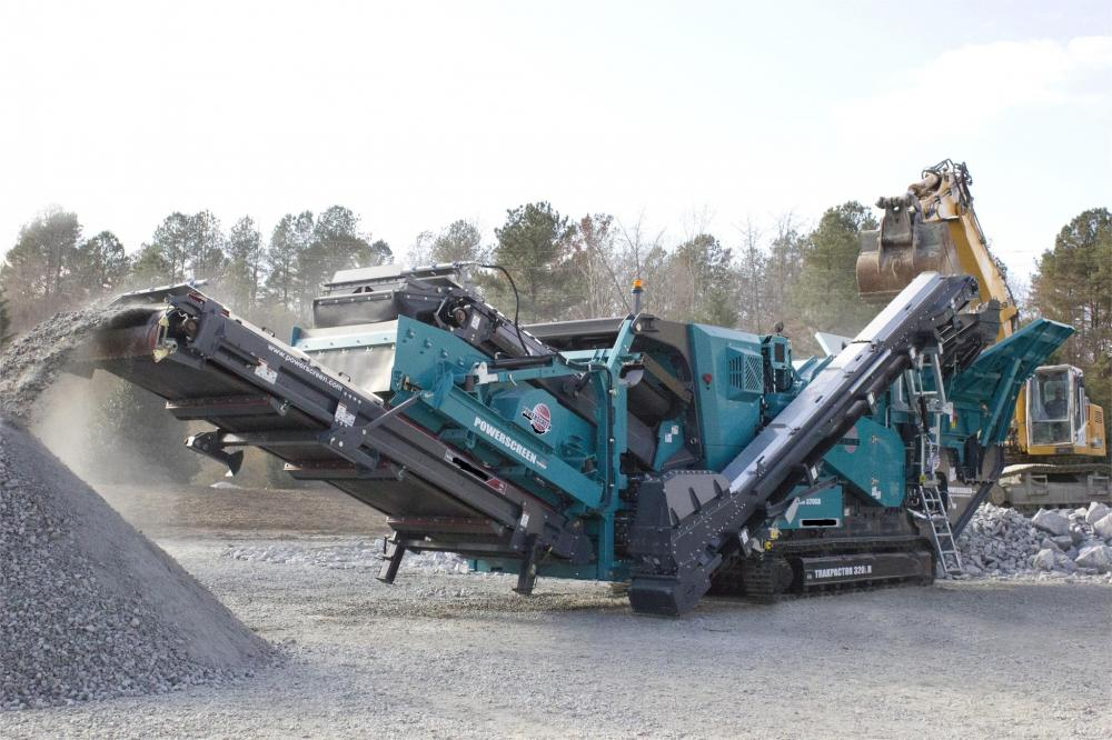 Detail photo of 2013 Powerscreen TRAKPACTOR 320SR from Construction Equipment Guide