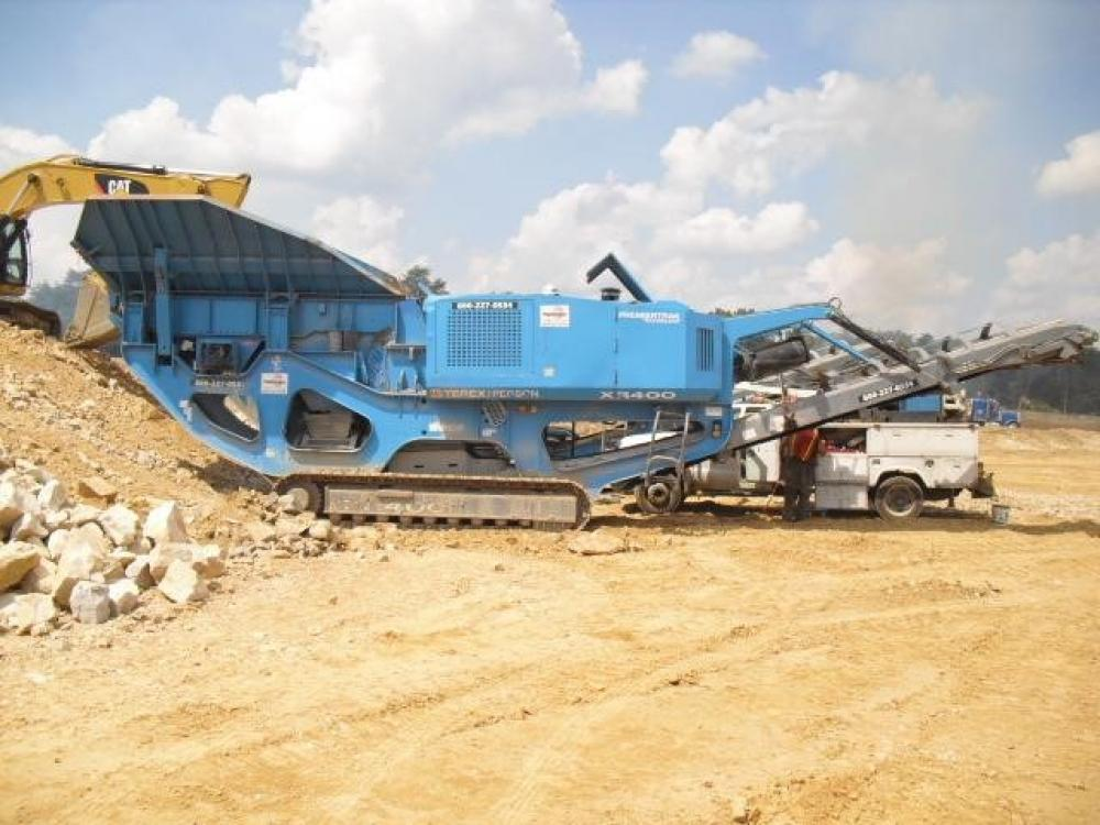 Detail photo of 2008 Powerscreen XR400 from Construction Equipment Guide