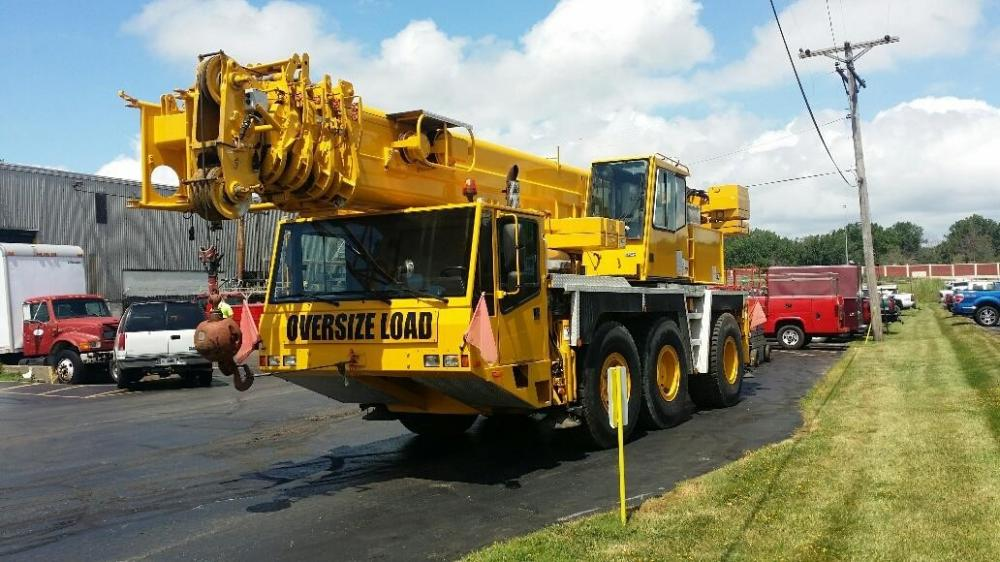 Detail photo of 1996 Demag AC155 from Construction Equipment Guide