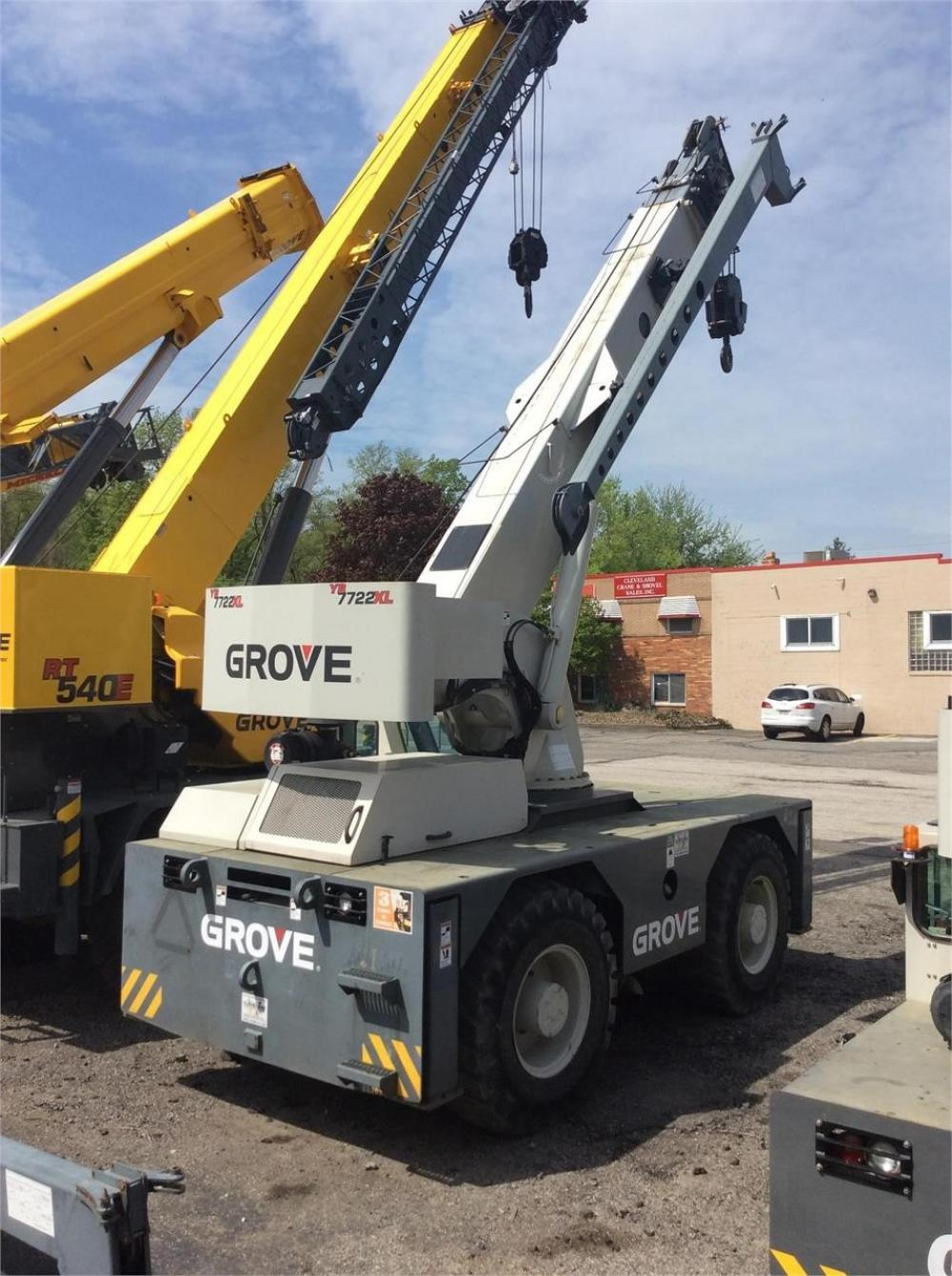 Detail photo of 2008 Grove YB7722 from Construction Equipment Guide