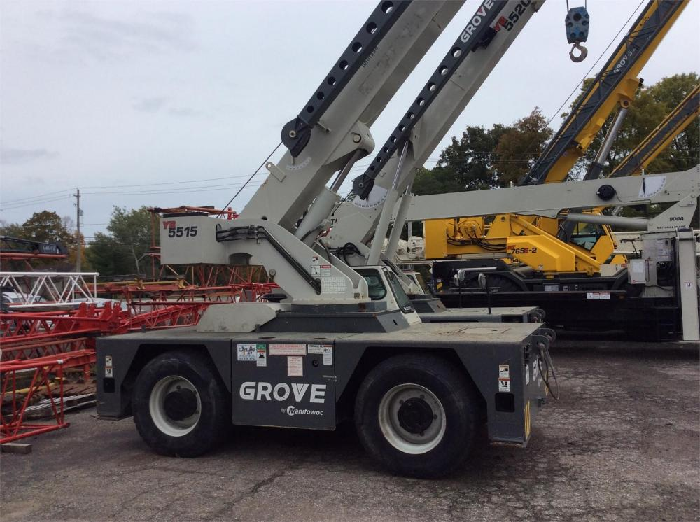 Detail photo of 2012 Grove YB5515 from Construction Equipment Guide