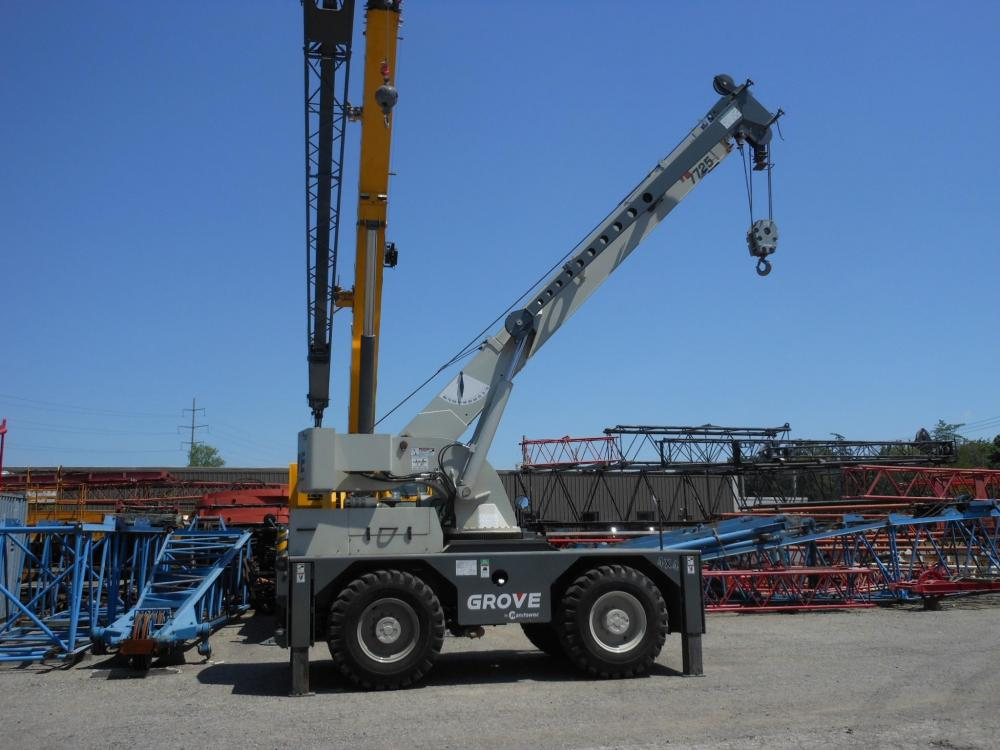 Detail photo of 2012 Grove YB7725 from Construction Equipment Guide